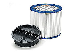 10-GAL CANISTER VACUUM SYSTEM HEPA filter